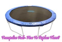 Trampoline Pads- How To Replace Them