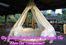 Diy Trampoline Bed- How To Recycle The Worn Out Trampolines