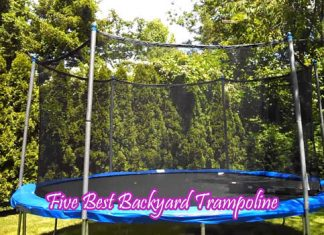 Five Best Backyard Trampoline