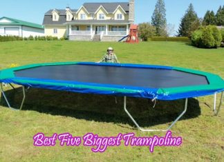 Best Five Biggest Trampoline