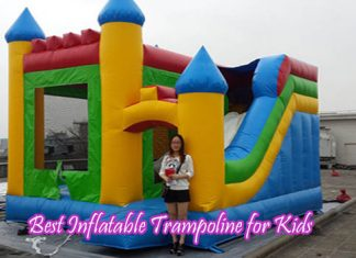Best Inflatable Trampoline for Kids
