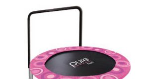 Five Best Pink Trampoline
