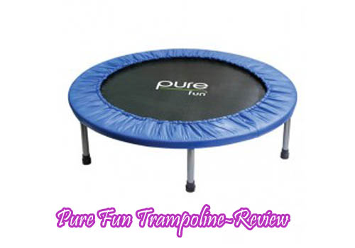 Pure Fun Trampoline-Review