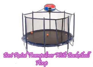 Best Rated Trampolines With Basketball Hoop