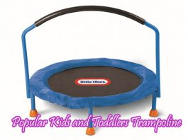 6 Best and Popular Kid and Toddler Trampoline