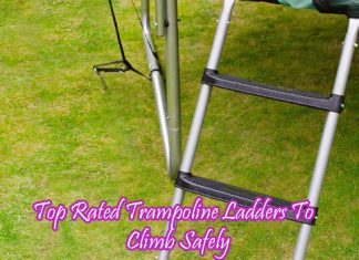 Top Rated Trampoline Ladders To Climb Safely