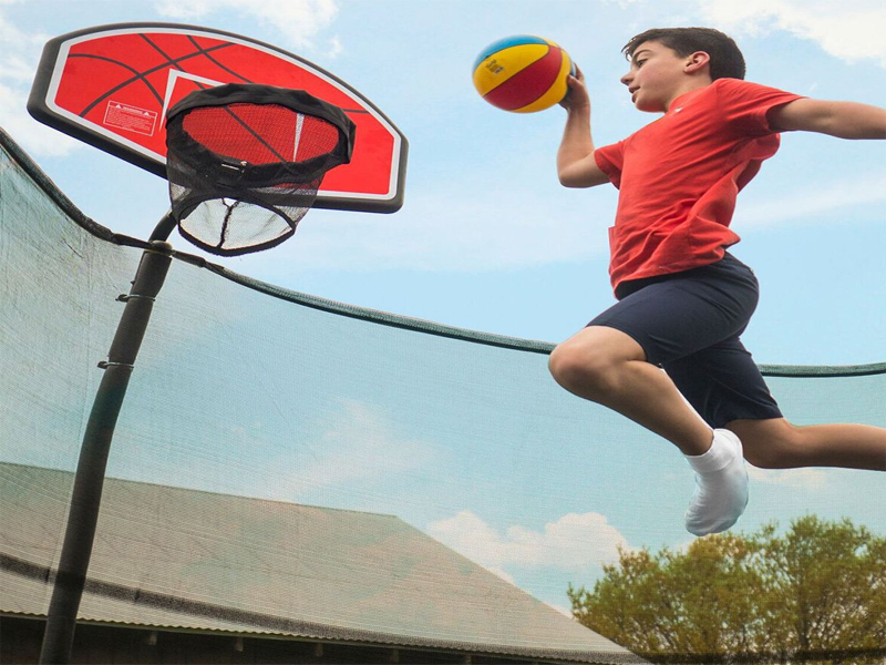 2019's 9 Best Trampolines with Basketball Hoop [Goal,Court ...